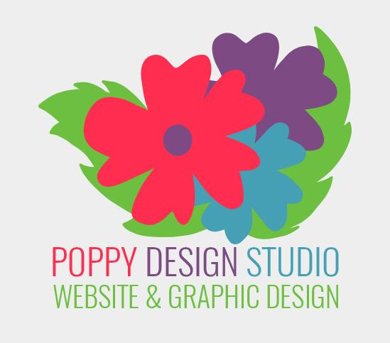 Poppy Design Studio Website and graphic design Northamptonshire